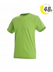 Unisex környakas póló, kiwizöld- 48 órán belül Önnél!*