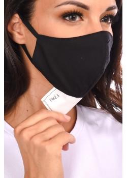 Textil szájmaszk + 1 db 5 rétegű aktív szénszűrővel