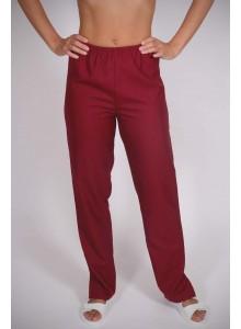 AKCIÓS!!! Bordó körgumis szűkített szárú nadrág